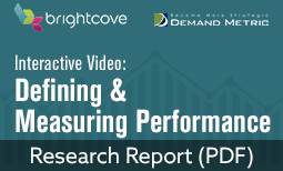 Interactive Video: Defining and Measuring Performance