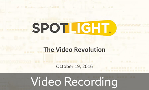 Elearning Guild October Spotlight: How to Reboot Your Video Strategy