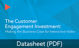 The Customer Engagement Investment