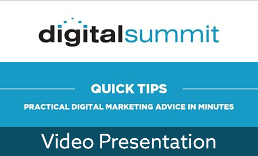 Digital Summit Denver Presentation: 3 Ways to Create an Emotional Connection With Your Audience